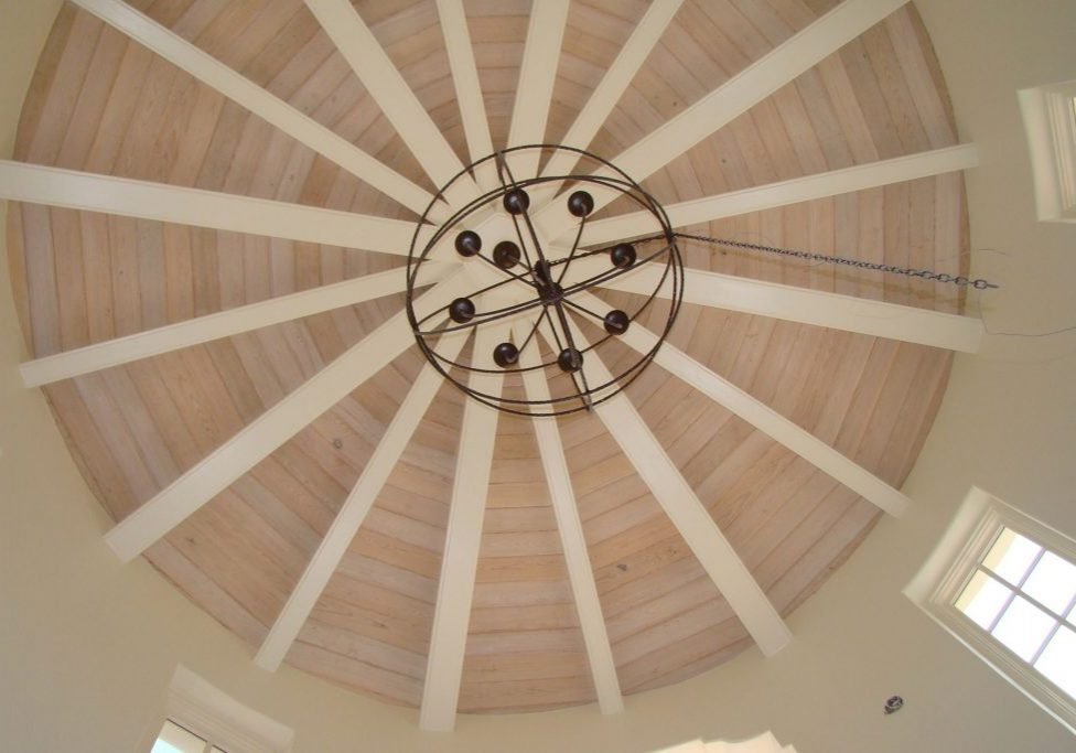 Ceiling-Round-Wood